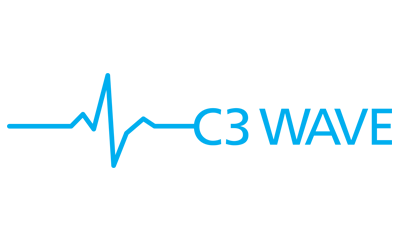 C3 Wave logo